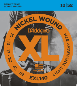 D'Addario EXL140 (10-52) Light/Heavy
