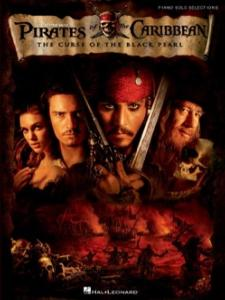 Disney Pirates des Caraïbes The Curse of the Black Pearl Piano solo selections