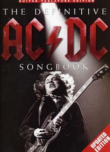 AC/DC - The definitive songbook TAB Updated edition