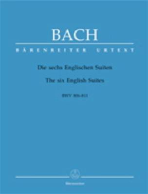 Bach - Suites Anglaises