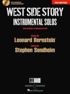 L.BERNSTEIN - WEST SIDE STORY Instrumental Solos  ALTO et PIANO avec CD
