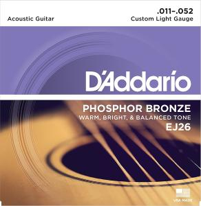 D'Addario EJ26 (11-52) Custom-Light